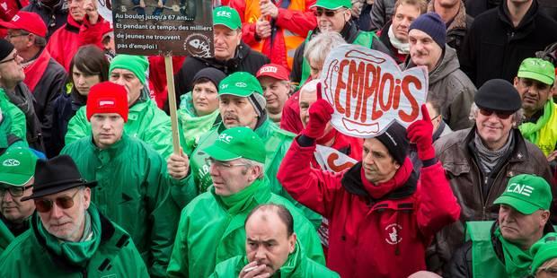 """Le """"front commun syndical reste uni"""" et prépare un nouveau plan d'action - La DH"""