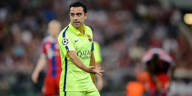 Xavi, bye-bye Barcelona - La DH