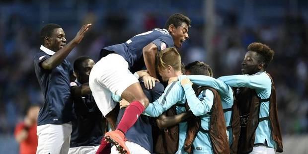 La France championne d'Europe des moins de 17 ans: 4-1 face � l'Allemagne