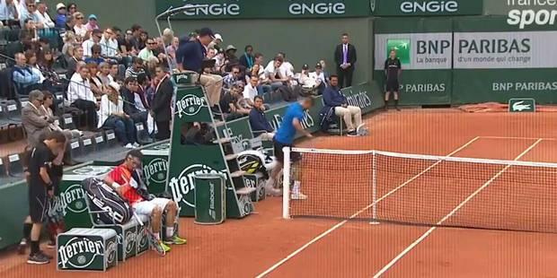 Roland Garros: Benoît Paire éclate sa raquette - La DH