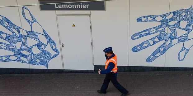 Alerte au colis suspect levée dans un tunnel près de la station Anneessens à Bruxelles - La DH