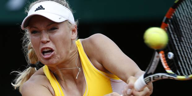 Wozniacki sortie, Serena Williams passe dans la douleur - La DH