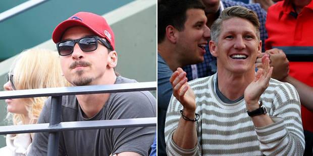 Zlatan soutient Djokovic, Schweinsteiger officialise avec Ivanovic (VIDEO) - La DH