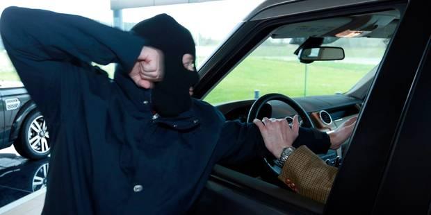 Violent car-jacking dans le Tournaisis - La DH
