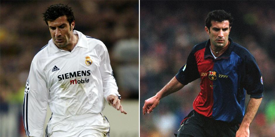 Quinze ans après, les fans du Barça se vengent de Luis Figo - DH Les Sports+
