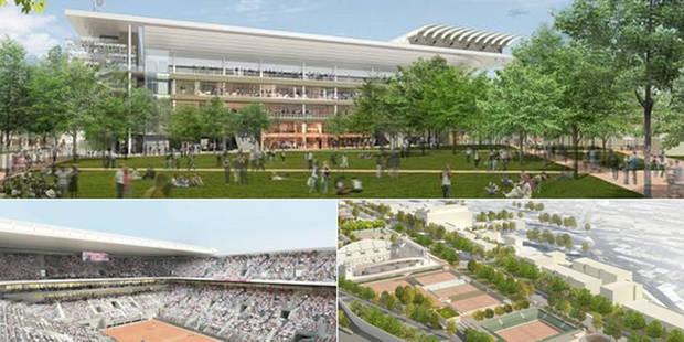 À quoi ressemblera le nouveau Roland Garros? (PHOTOS) - La DH