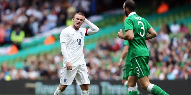 Amical: partage décevant entre l'Angleterre et l'Irlande, Blatter chambré - La DH