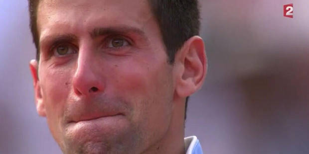 Désillusion puis standing ovation: les larmes de Djokovic (VIDEO) - La DH