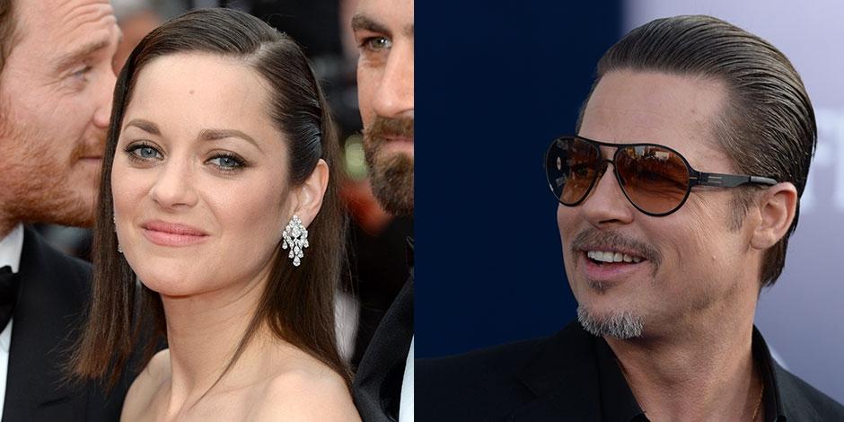 Marion Cotillard bientôt dans un thriller avec Brad Pitt?