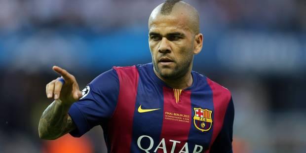 Dani Alves prolonge au Barça, Luis Enrique aussi - La DH