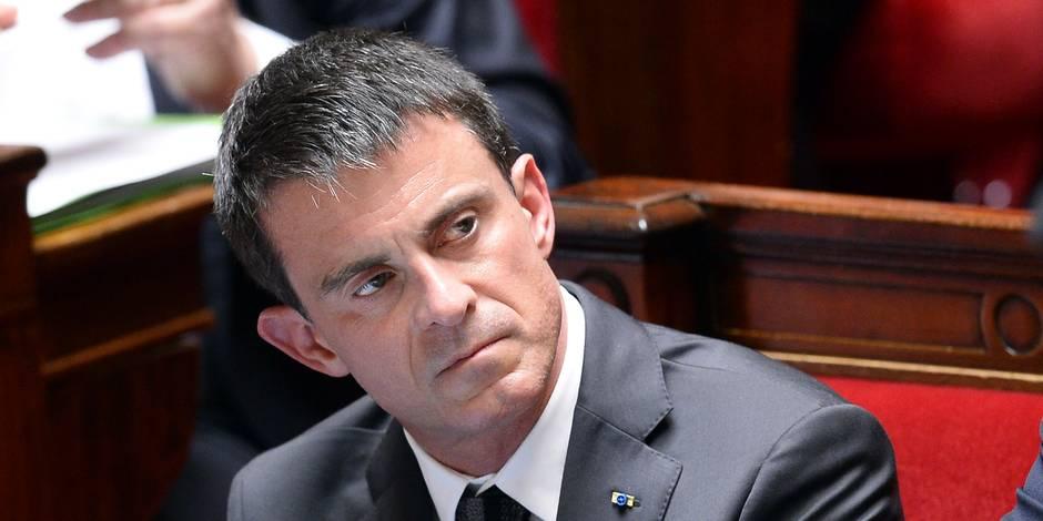 Voyage pour la finale à Berlin: Valls remboursera 2.500 euros