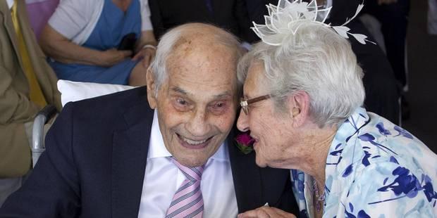 """George Kirby, 103 ans, et Doreen Luckie, 91 ans, se sont dit """"oui"""" - La DH"""