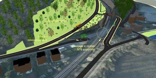 Une route creusée dans la colline du CHU? ! - La DH