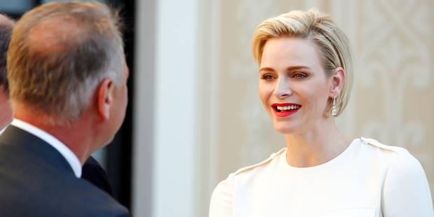 Charlène de Monaco, souriante et glamour - La DH