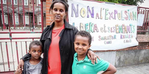 En Belgique depuis dix ans, Deka vit sous la menace d'une expulsion - La DH