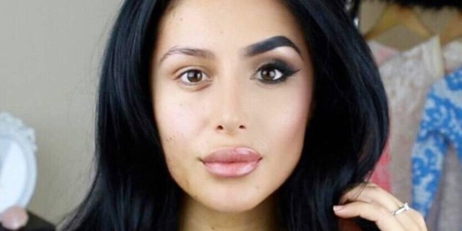 Pourquoi ces visages à moitié maquillés envahissent-ils les réseaux sociaux?