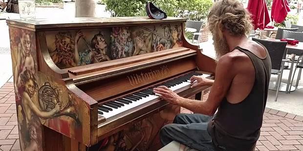 Ce SDF est un virtuose du piano: il trouve un job grâce à Youtube - La DH