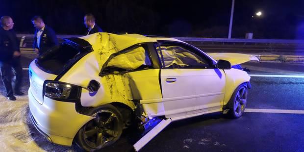 Un mort et trois blessés dans un accident de la route à Jumet