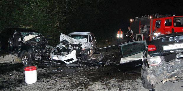 Walcourt: Deux morts et trois blessés dont un grave dans un terrible accident - La DH