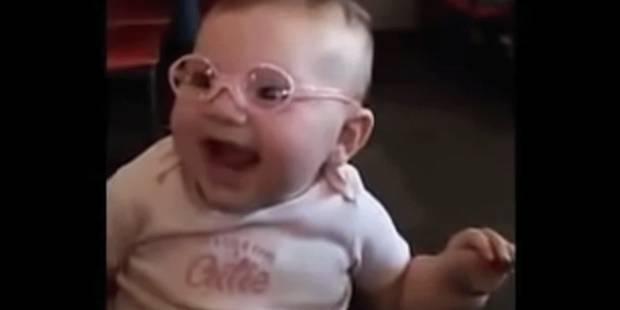 Ce bébé reçoit ses premières lunettes et fait le buzz - La DH