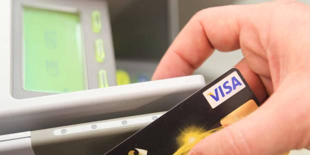 Cartes Visa copiées: des milliers d'euros volés !