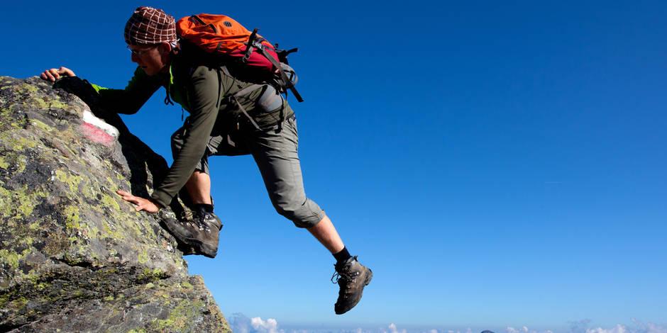 """L'escalade engendre un vrai """"lâcher prise"""", idéal pour aider l'anxieux à sortir de sa bulle"""
