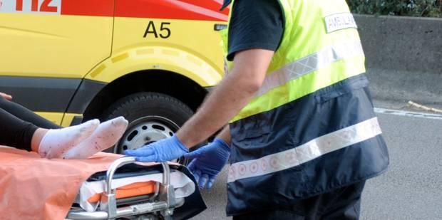 Un motard d�c�de dans un accident � Melen
