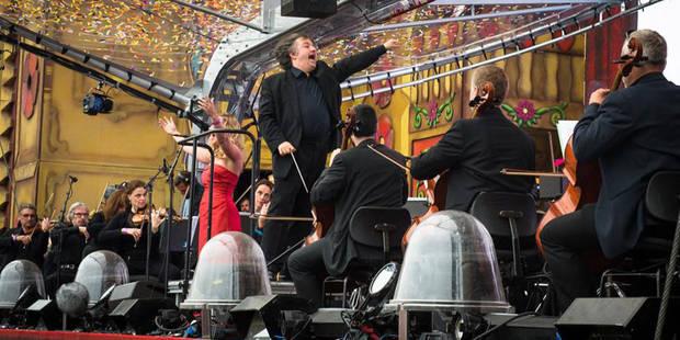 Quand l'Orchestre National de Belgique reprend du David Guetta (PHOTOS ET VIDEOS) - DH.be