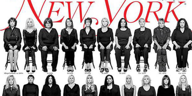 Les 35 victimes présumées de Bill Cosby posent en une d'un magazine - La DH