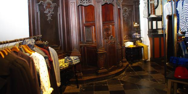 Scotch&Soda : une église devenue une boutique de luxe à Namur ! - La DH