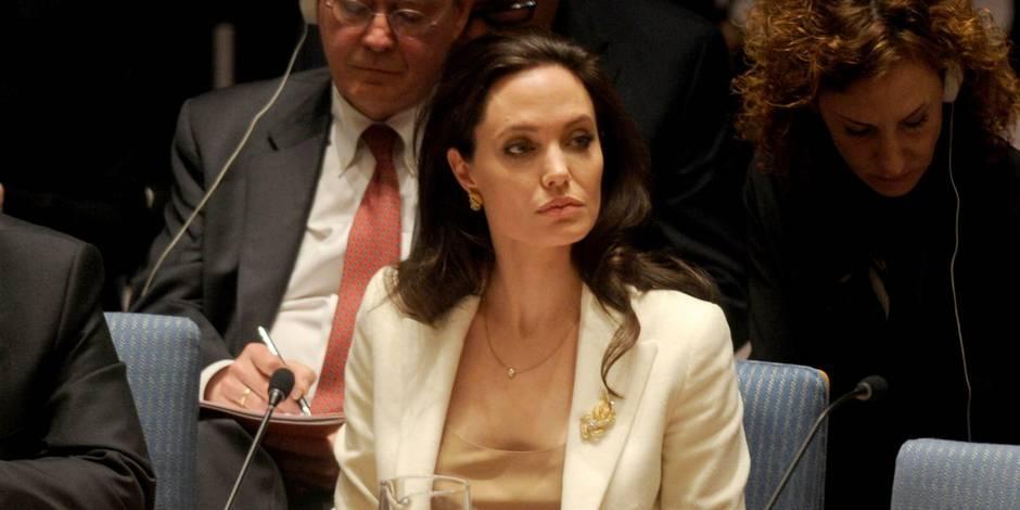 Angelina Jolie prend la défense des victimes de violences sexuelles en Birmanie