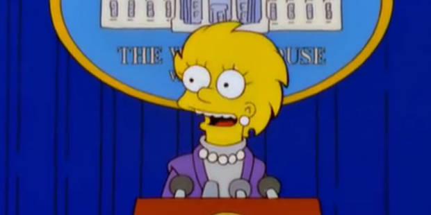 Trump président dans les Simpsons, il y a 16 ans... Une prémonition ? - La DH