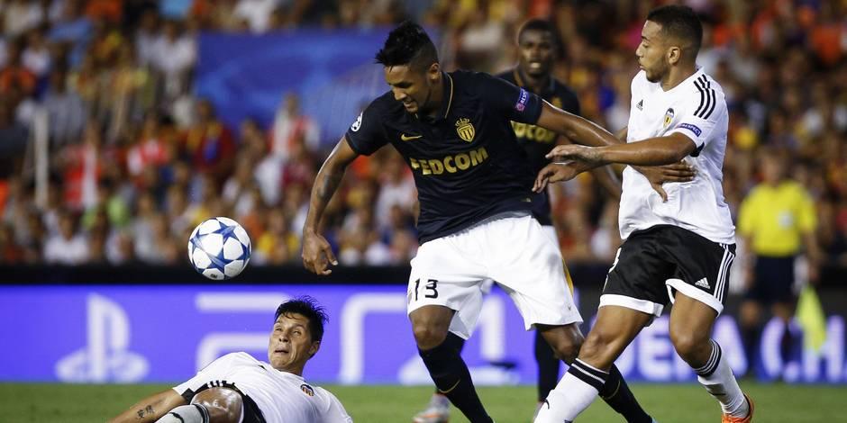 Ligue des Champions : sans défense, Monaco chute à Valence
