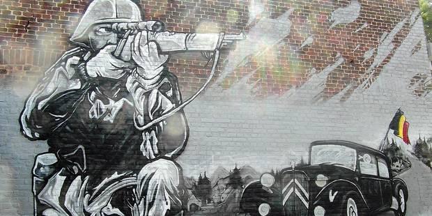 Cette fresque sème la discorde à Marcinelle - La DH