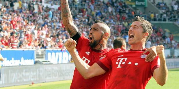 Bundesliga: Lewandowski sauve le Bayern, Wolfsburg tenu en échec - La DH