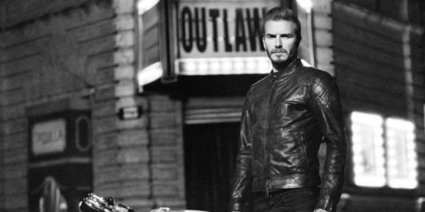 David Beckham, motard viril pour Liv Tyler et Belstaff - La DH