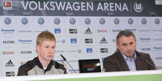 """Allofs: """"À ce jour, Kevin reste un joueur de Wolfsburg"""" - La DH"""