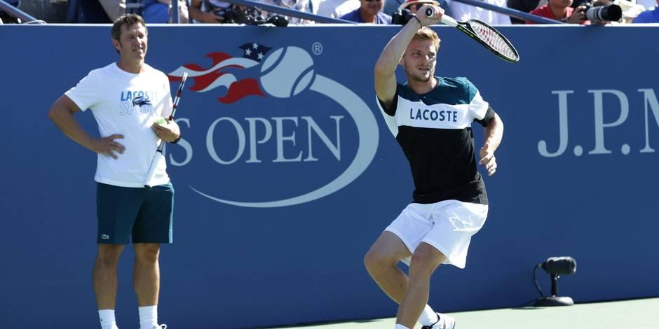 """David Goffin: """"L'US Open reste l'objectif principal"""" - La DH"""