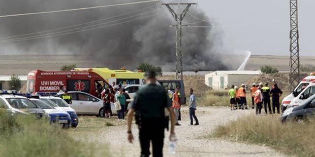Six morts dans l'explosion d'une usine de feux d'artifice en Espagne - La DH