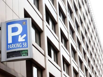 Interparking Parking 58, Rue de l'Evêque 1, 1000 Bruxelles.