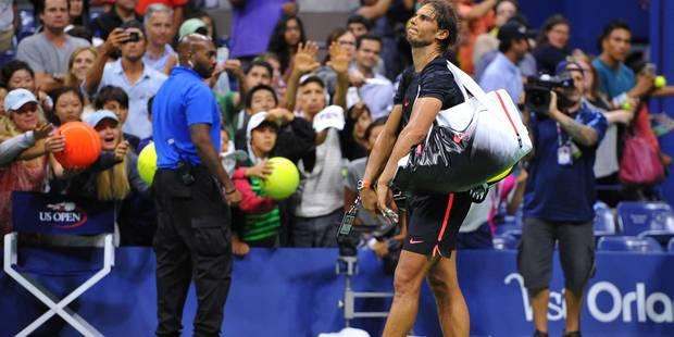 US Open: Rafael Nadal éliminé dès le 3e tour par Fognini après 3h46 de match - La DH