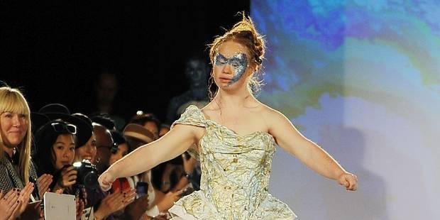 Le handicap s'invite à la Fashion Week - La DH