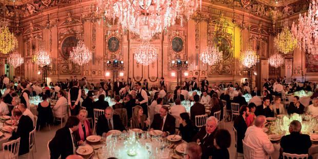 115 étoiles Michelin réunies à Paris pour un gigantesque dîner - La DH