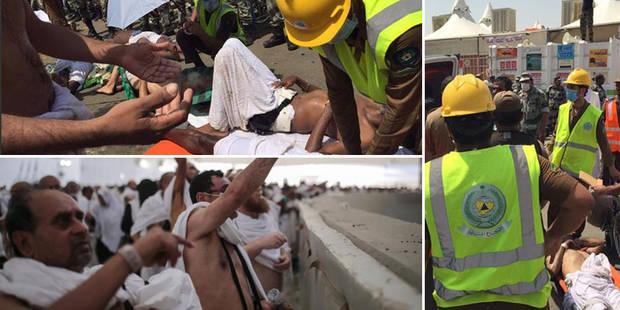 Drame à La Mecque: Nouveau bilan de 717 morts et 805 blessés, l'Iran accuse l'Arabie saoudite (PHOTOS + VIDEO) - La DH