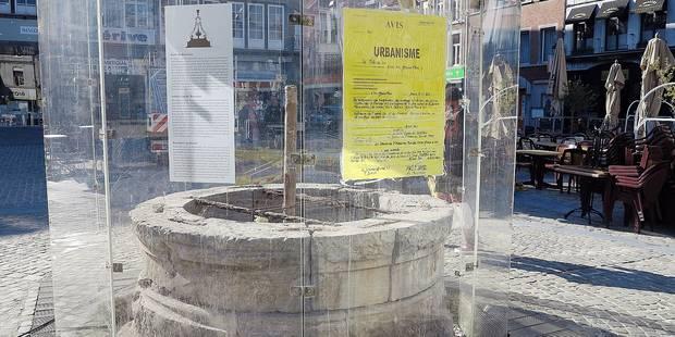 Bientôt le grand retour de la fontaine à Huy - La DH