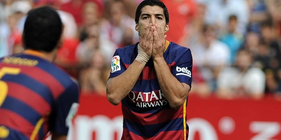 Liga: la guigne poursuit le Barça, battu à Séville