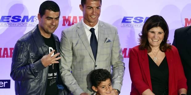 Quand le fils de Ronaldo �nerve sa grand-m�re au sujet de Messi