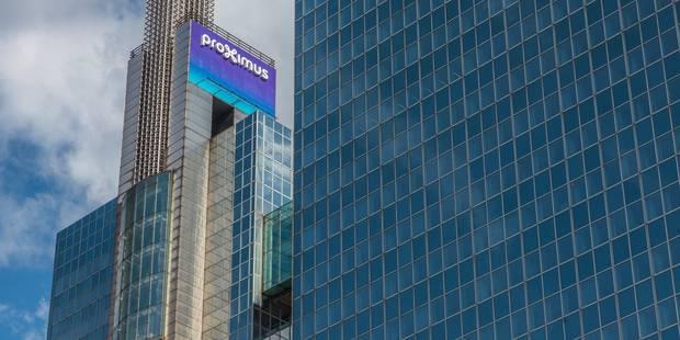 Proximus débourse 120 millions d'euros pour régler des litiges avec Mobistar et Base - La DH