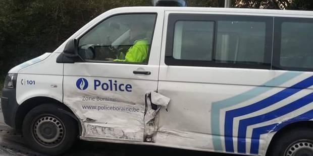 Saint-Ghislain: Deux policiers blessés dans un accident de la route - La DH