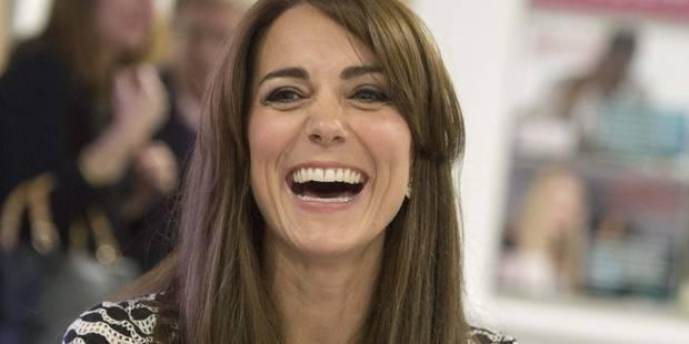 Bonne humeur : jouez-là comme Kate Middleton - La DH